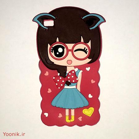 قاب عروسکی دخترانه هواوی پی هشت Huawei P8