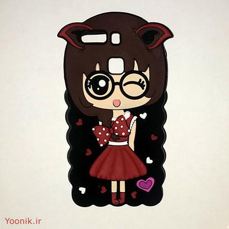 قاب عروسکی دخترانه هواوی پی نه Huawei P9
