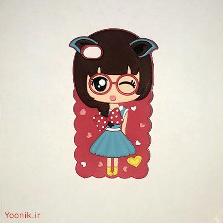 قاب عروسکی دخترانه آیفون iPhone 4