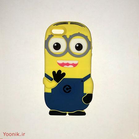 قاب عروسکی مینیون آیفون iPhone 5