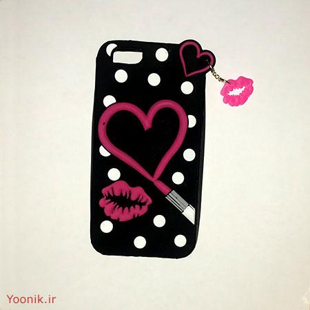 قاب عروسکی طرح قلب آیفون شش پلاس iPhone 6plus