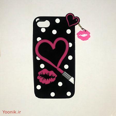 قاب عروسکی طرح قلب آیفون هفت iPhone 7